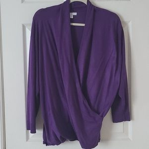 New York & Company Tops - NY & Company surplice wrap top